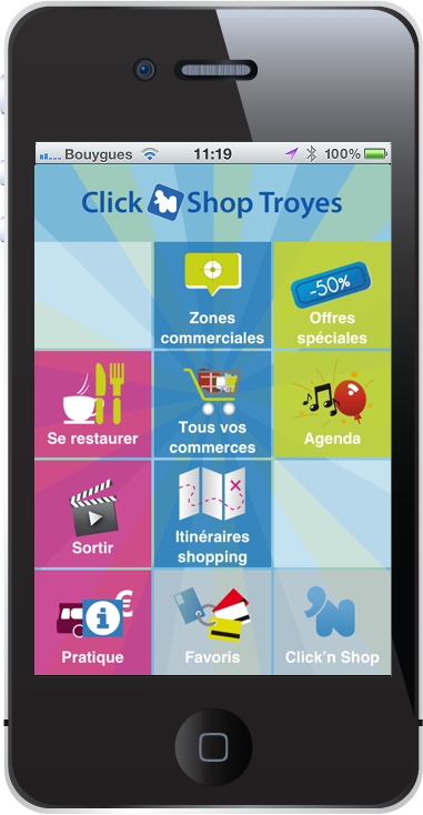 Accueil Click 'n Shop Troyes